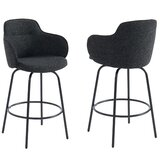 Veras Swivel Bar Stool (Set of 2) by Brayden Studio®