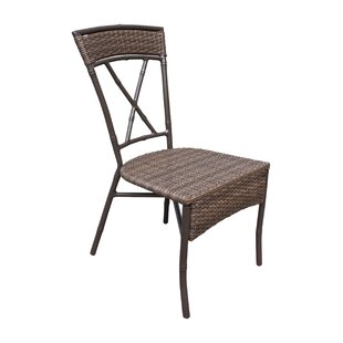 Rum Cay Stacking Patio Dining Chair with Cushion