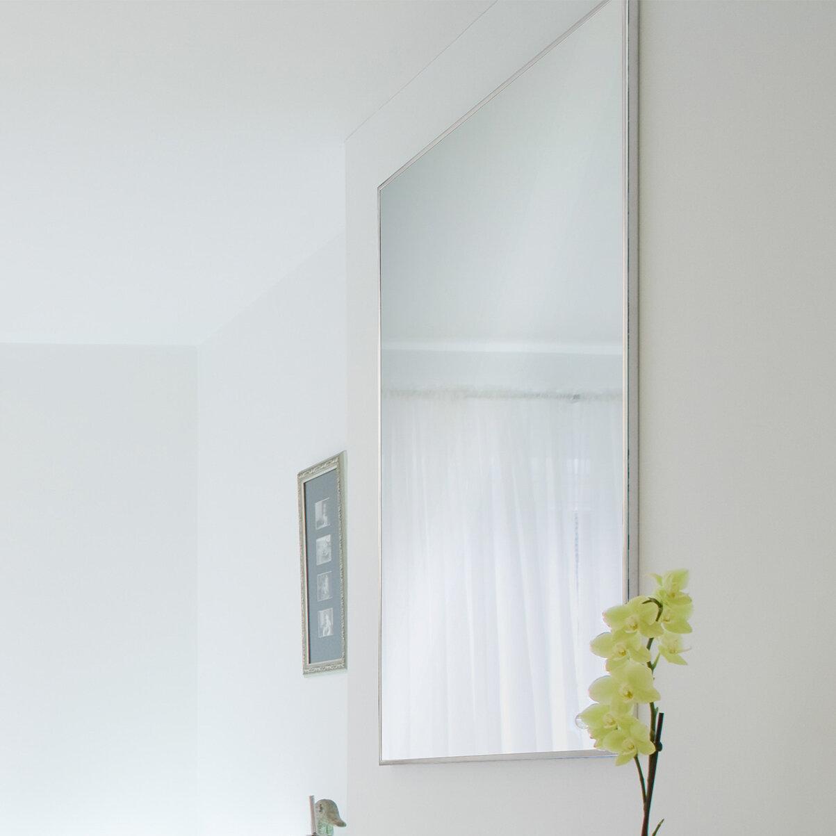 Orren Ellis Framed Rectangular Modern And Contemporary Accent Mirror Wayfair