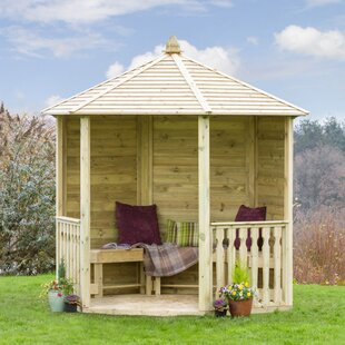 Strongsville 2.6m X 2.6m Solid Wood Patio Gazebo By Sol 72 Outdoor