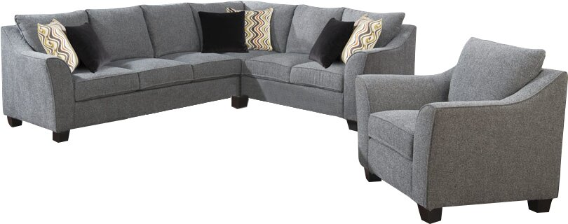 Anselme Configurable Living Room Set
