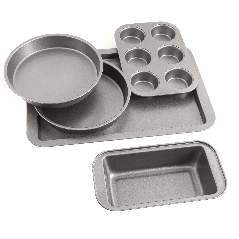 Sunbeam 5 Piece Non Stick Bakeware Set Reviews Wayfair