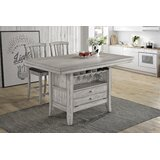 Hooten Kitchen Island by Gracie Oaks