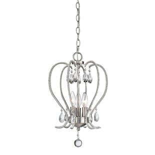 Patrice 3-Light Geometric Chandelier by Z-Lite