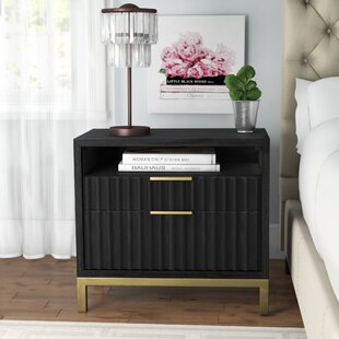 Price comparison Holford 2 Drawer Nightstand by Willa Arlo Interiors