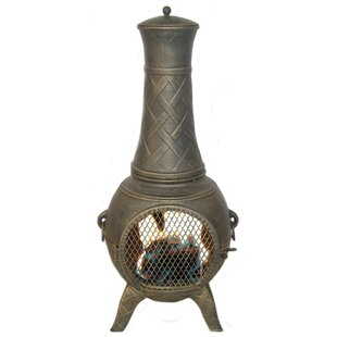 Deeco Western Basket Weave Aluminum Wood ..
