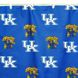 NCAA Kentucky Cotton Printed Single Shower Curtain