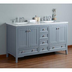 Murdoch 60 Double Bathroom Vanity Set