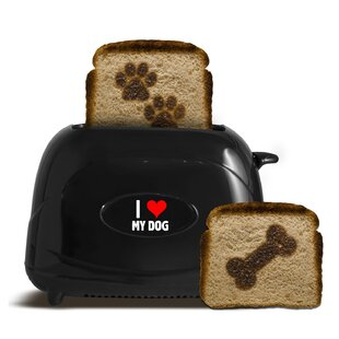 2 Slice I Love My Dog Toaster