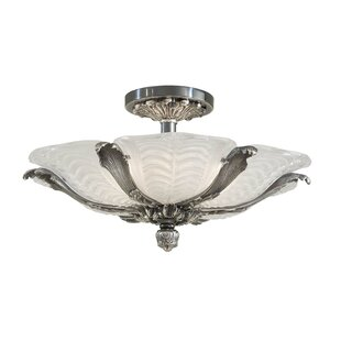 6-Light Semi Flush Mount by Metropolitan by Minka