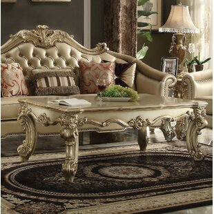 Kaitlin Solid Wood Coffee Table By Astoria Grand