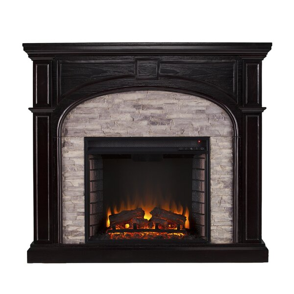 Shanley Traditional Electric Fireplace by Birch Lane