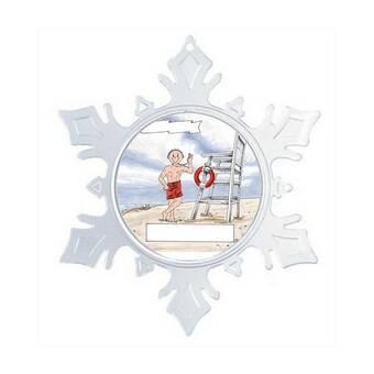 The Holiday Aisle Personalized Friendly Folks Cartoon Snowflake Ballet Shoes Ballerina Ballet Christmas Holiday Shaped Ornament Wayfair