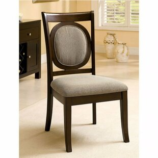 Merius Solid Wood Dining Chair (Set of 2) Red Barrel Studio