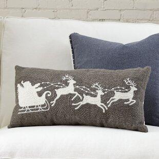 Novack Reindeer Pillow Cover