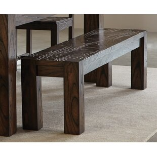 Rimrock Wood Bench by Loon Peak