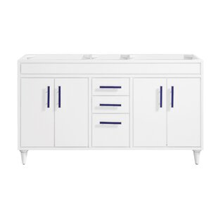 Layla 60 Double Bathroom Vanity Base by Avanity