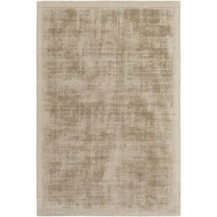 Natalie Hand-Loomed Taupe Area Rug by Langley Street