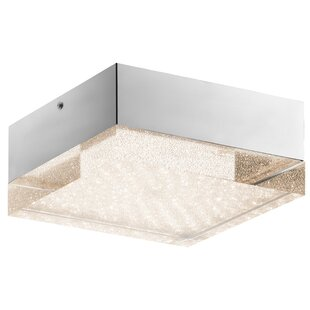 House of Hampton Loren 1-Light Flush Mount