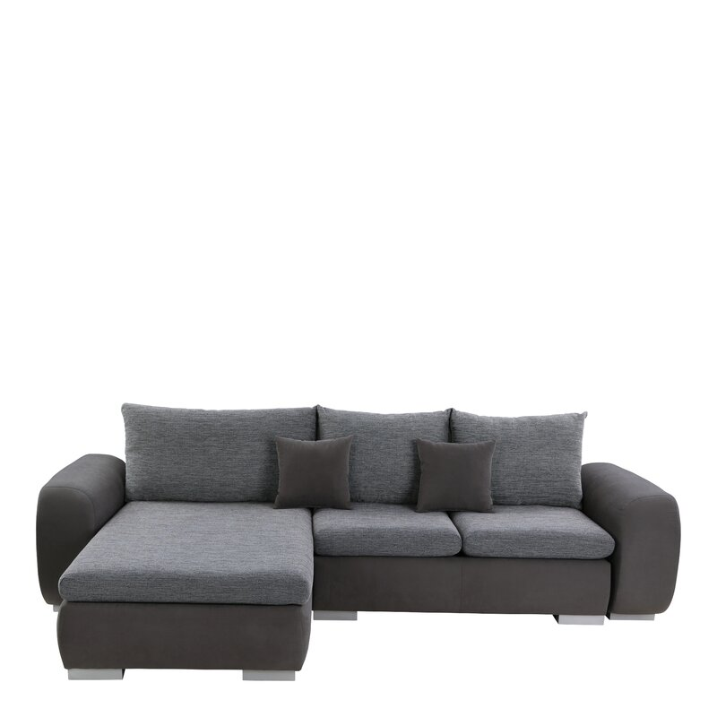 Ebern Designs Aysen Sleeper Corner Sofa Bed & Reviews ...