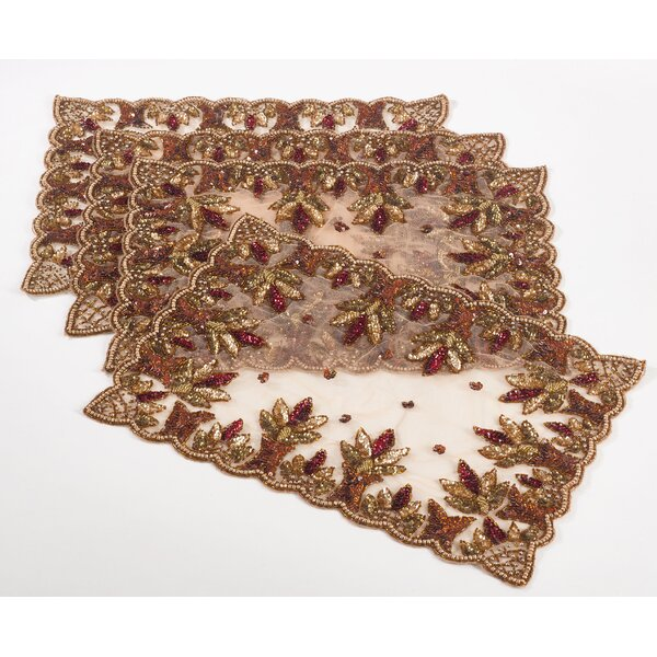 Burna Hand Beaded Design Placemat