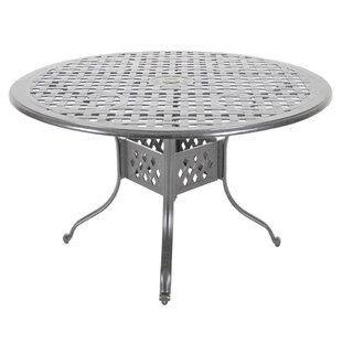 Order Croydon Aluminum Dining Table Affordable Price