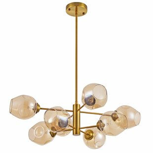 Cassana 8-Light Sputnik Chandelier