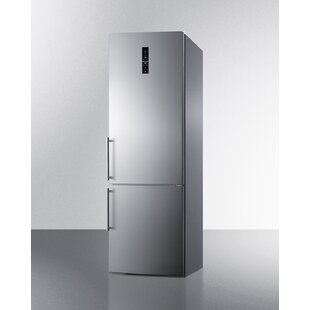Summit Built-In 11.6 cu. ft. Counter Depth Bottom Freezer Refrigerator with Icemaker by Summit Appliance