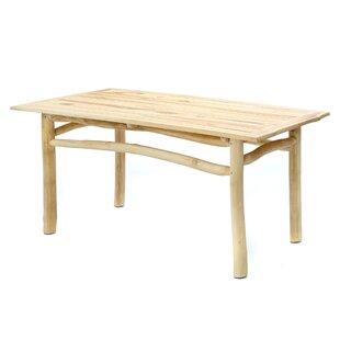 The Tulum Wooden Dining Table By Bazar Bizar