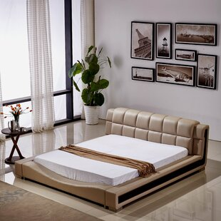 Pottorff Elegant Upholstered Platform Bed