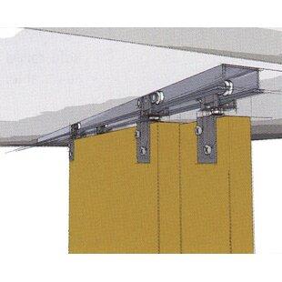 TopLine 72-138 Double Barn Door Hardware by Hettich