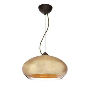 Besa Lighting Brio 1-Light Globe Pendant