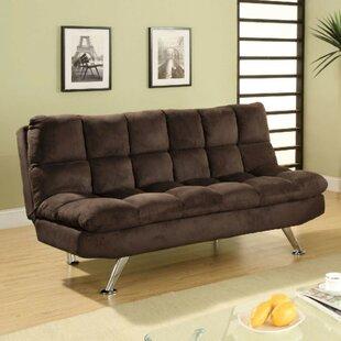 Weid Microfiber Convertible Sofa
