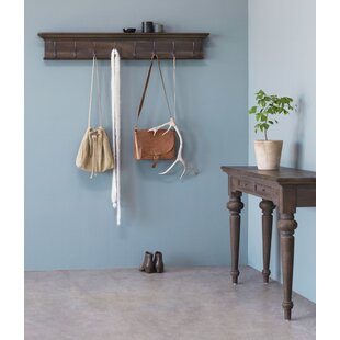 Tyrol Wall Mounted Coat Rack By Astoria Grand