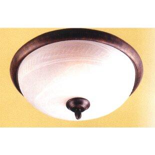 3-Light Semi-Flush Mount by Classic Lighting