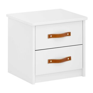 Compare Price 2 Drawer Bedside Table