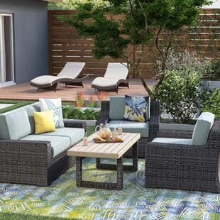 Linwood 4 Piece Sofa Set with Cushions