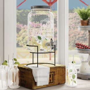 Cherie 2 Piece Beverage Dispenser Set