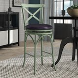 Woodbranch 29 Swivel Bar Stool by Greyleigh™