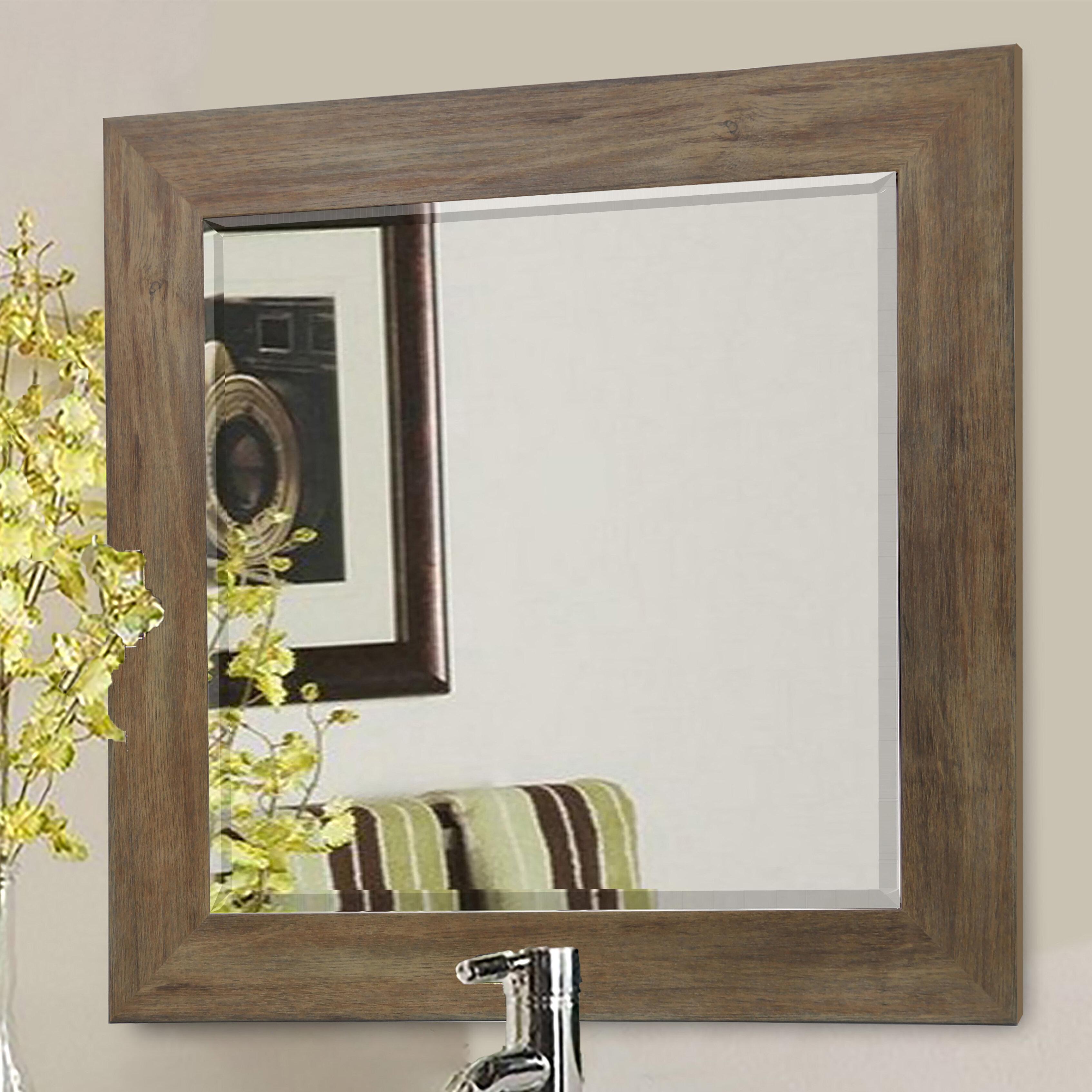 Rayne Mirrors Farmhouse Country Distressed Accent Mirror Wayfair
