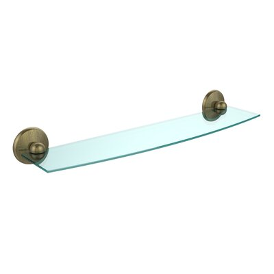 17 Stories Seanteen Floating Shelf With Gallery Rail 17 Stories Finish Satin Nickel Size 8 H X 30 W X 8 6 D From Wayfair North America Shefinds