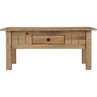 Anns Coffee Table With Storage By Three Posts