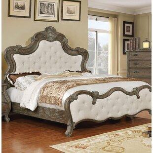 One Allium Way Adorno Upholstered Panel Bed