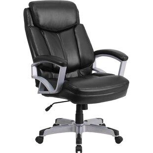 Symple Stuff Laduke High-Back Leather Executive Chair