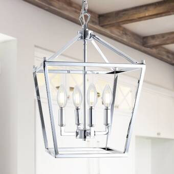 Wrought Studio Taufner 4 Light Candle Style Classic Traditional Chandelier Wayfair