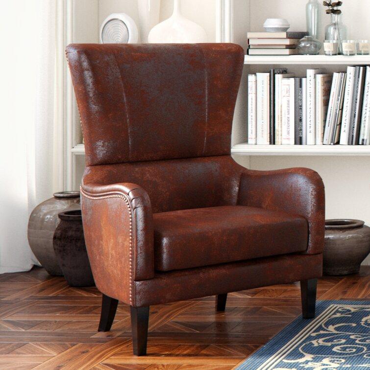 Merveilleux Gordon High Back Wingback Chair