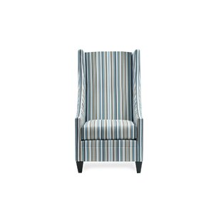 Saige Short Wingback Chair by Uniquely Furnished