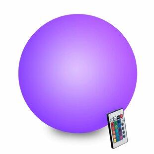 Innoka Waterproof Rechargeable Floating Glow Ball LED Floating Light