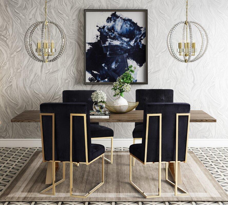 Alvaro 5 Piece Dining Table Set