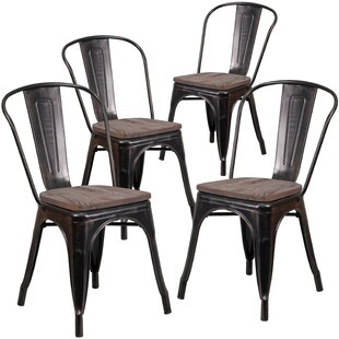 Ketchum Stackable Dining Chair (Set of 4)